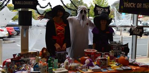 Sainsbury's Halloween Fundraiser