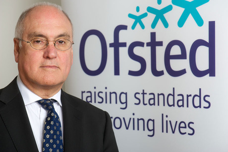 Congratulations from Sir Michael Wilshaw-Ofsted