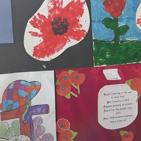 Caldecott Foundation Produces Poppy Art