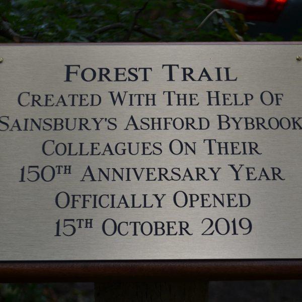 Mayor of Ashford Opens Caldecott's Forest Trail