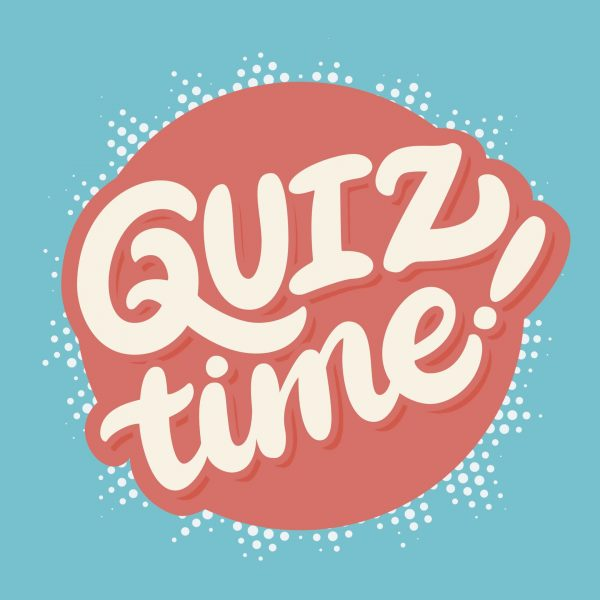 A Quiz night at your local pub or community centre