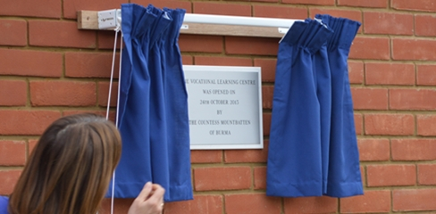 Vocational Learning Centre Official Opening